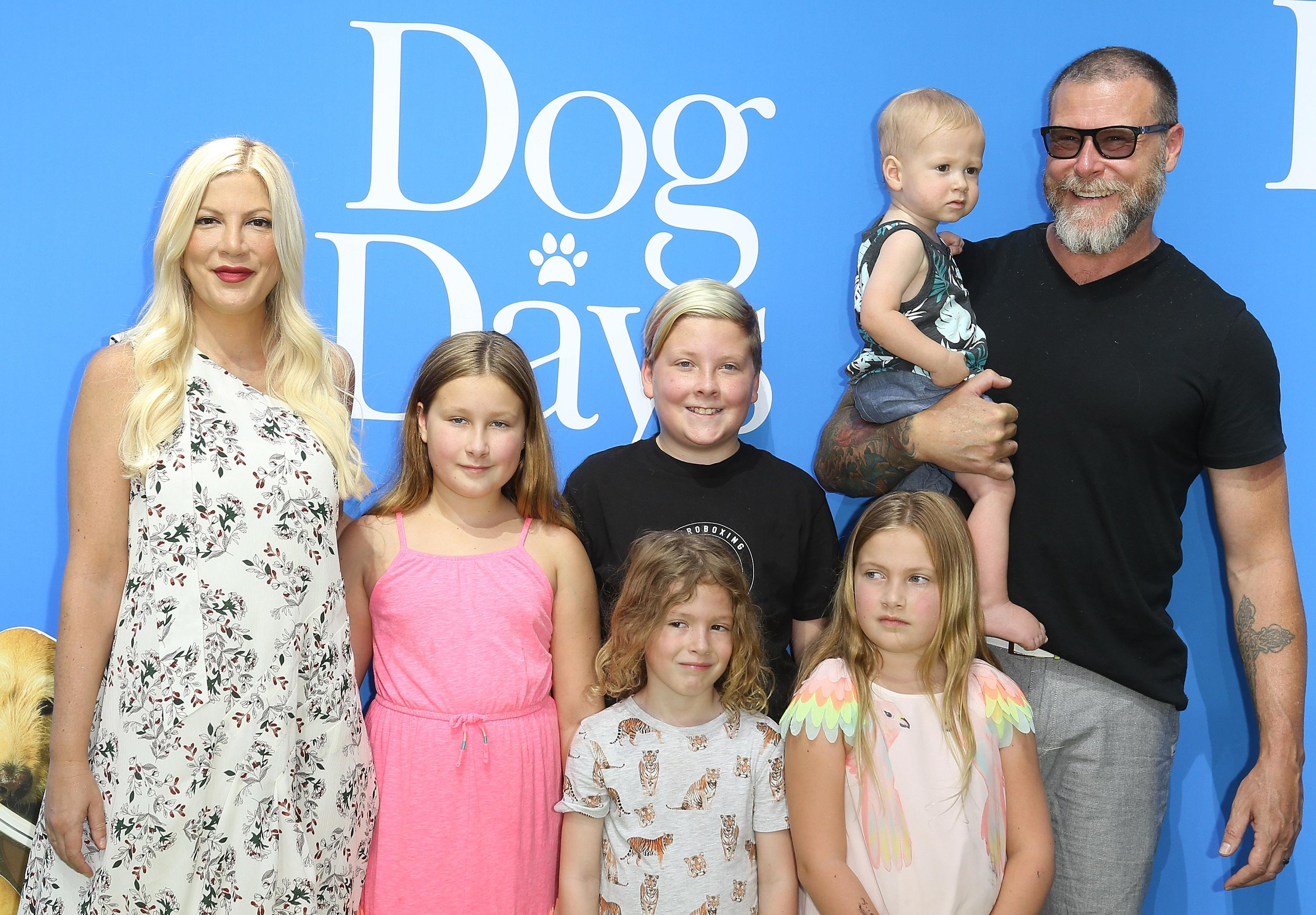 Candid Hd First Day Of School tori spelling calls out mom shamers who criticized her kids