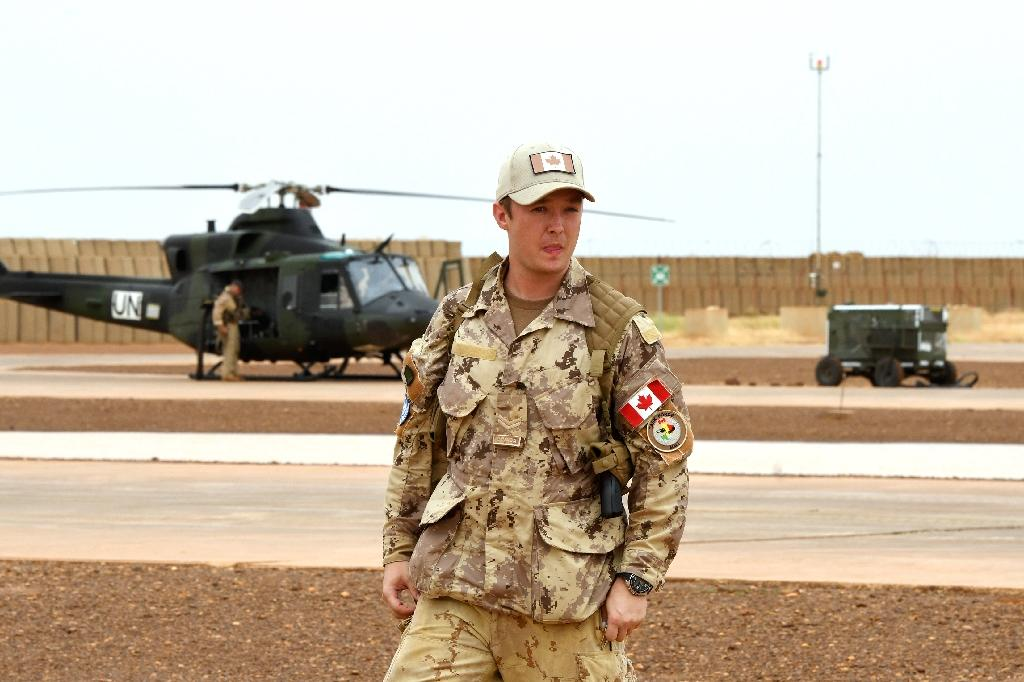 The Canadian forces will carry out medical evacuations in the north of Mali (AFP Photo/SEYLLOU)