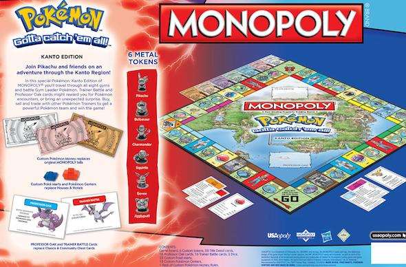 Choose your first starter again in Pokemon Monopoly