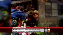 Girl, 2, Falls From Window In Brooklyn