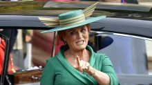 Sarah, Duchess of York '61, still red-headed and not out' on birthday