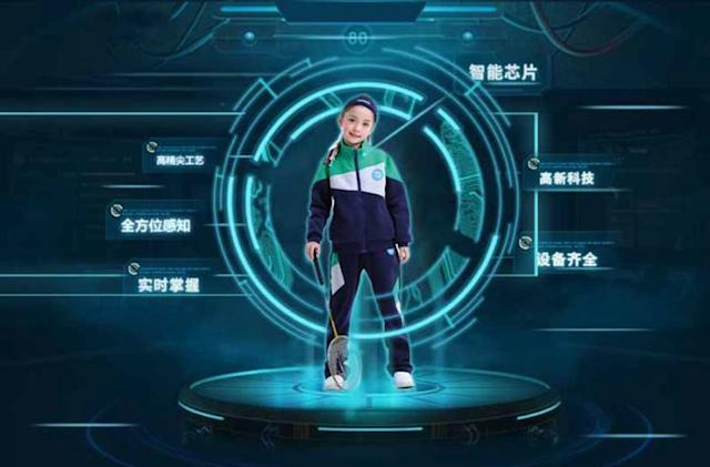 Chinese schools keep tabs on kids with 'intelligent uniforms'