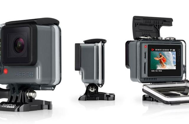 GoPro's Hero+ LCD puts a touchscreen on its entry-level camera