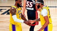 Basket - NBA - Finale - NBA: les Los Angeles Lakers s'imposent nettement face au Miami Heat lors du Match 1 de la finale