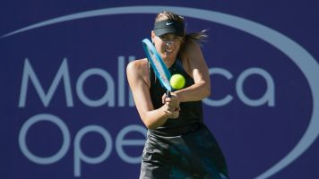 Sharapova victorious in return from injury