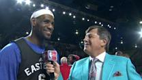 LeBron with Sager