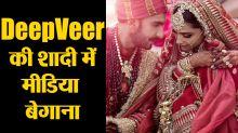 Deepika Padukone - Ranveer Wedding: Reason why Indian Media was ignored