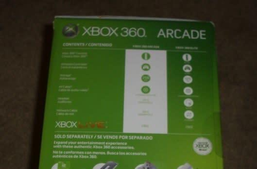 New Xbox 360 Arcade and Elite boxes shot once again in the wild, spelling doom for the middle sibling