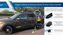 Airgain is Chosen by Axon as Exclusive Partner for Fleet 2 In-Car Video System