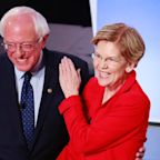 Two-thirds of Bernie Sanders supporters also would support Elizabeth Warren if she's the nominee