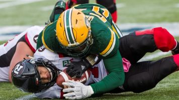 CJ Gable runs in two TDs, Eskimos beat Redblacks 34-16