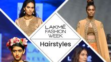 Lakme Fashion Week Summer Resort 2020: Hairstyles That Dazzled On The Ramp
