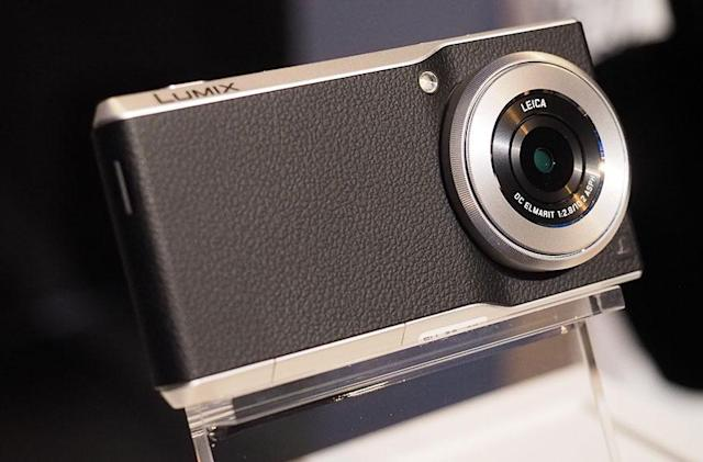 Panasonic's 'connected camera' pairs an Android smartphone with a one-inch sensor and f/2.8 lens