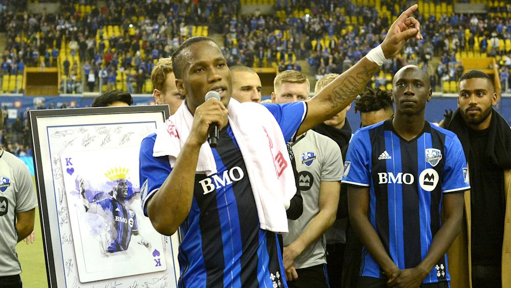 Didier Drogba signs with Phoenix Rising of USL