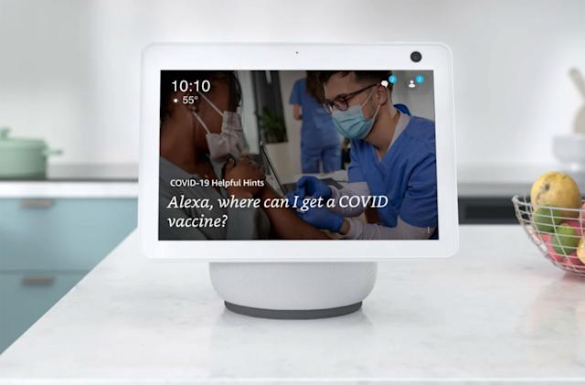 Alexa can help you find a COVID-19 vaccination site