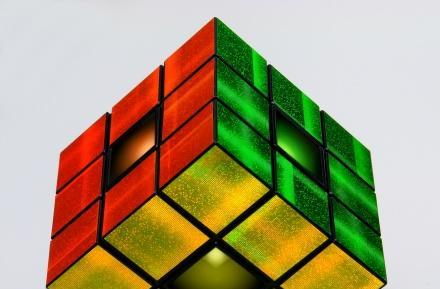 Rubik's Revolution adds flashy lights and voice to the classic