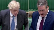 Boris Johnson repeatedly dodges questions over flat refurb that could have broken law – 'This is irrelevant'