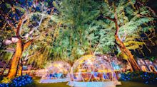 Now you can dine under the stars in igloo-like bubble domes at Capitol Singapore and Chijmes this Christmas season