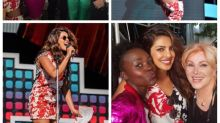 Global Citizen Festival: Priyanka Chopra hangs out with Demi Lovato and Lupita Nyong'o