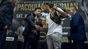 Thurman promises to end Pacquiao's career
