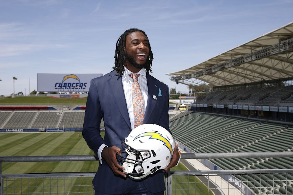 Chargers rookie Mike Williams. (AP)