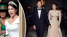 Princess Eugenie reveals stunning second wedding dress