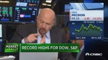 Wall Street analysts are worried about a memory chip downturn as Micron shares keep falling