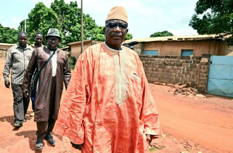 Kiali Ouattara, a traditional chief in Ferkessedougou, is among Soro's supporters (AFP Photo/Issouf SANOGO)