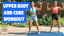 Gym Buddies: Upper body and core workout