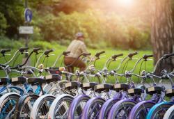 Bird's app now shows rentable city bikes from public operators