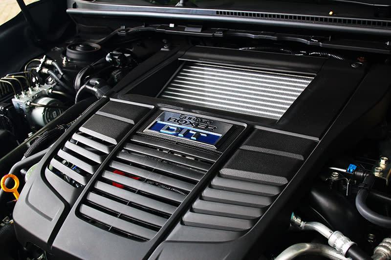 Levorg搭載與WRX相同的2.0升渦輪引擎具有268hp/35.7kgm輸出動力。