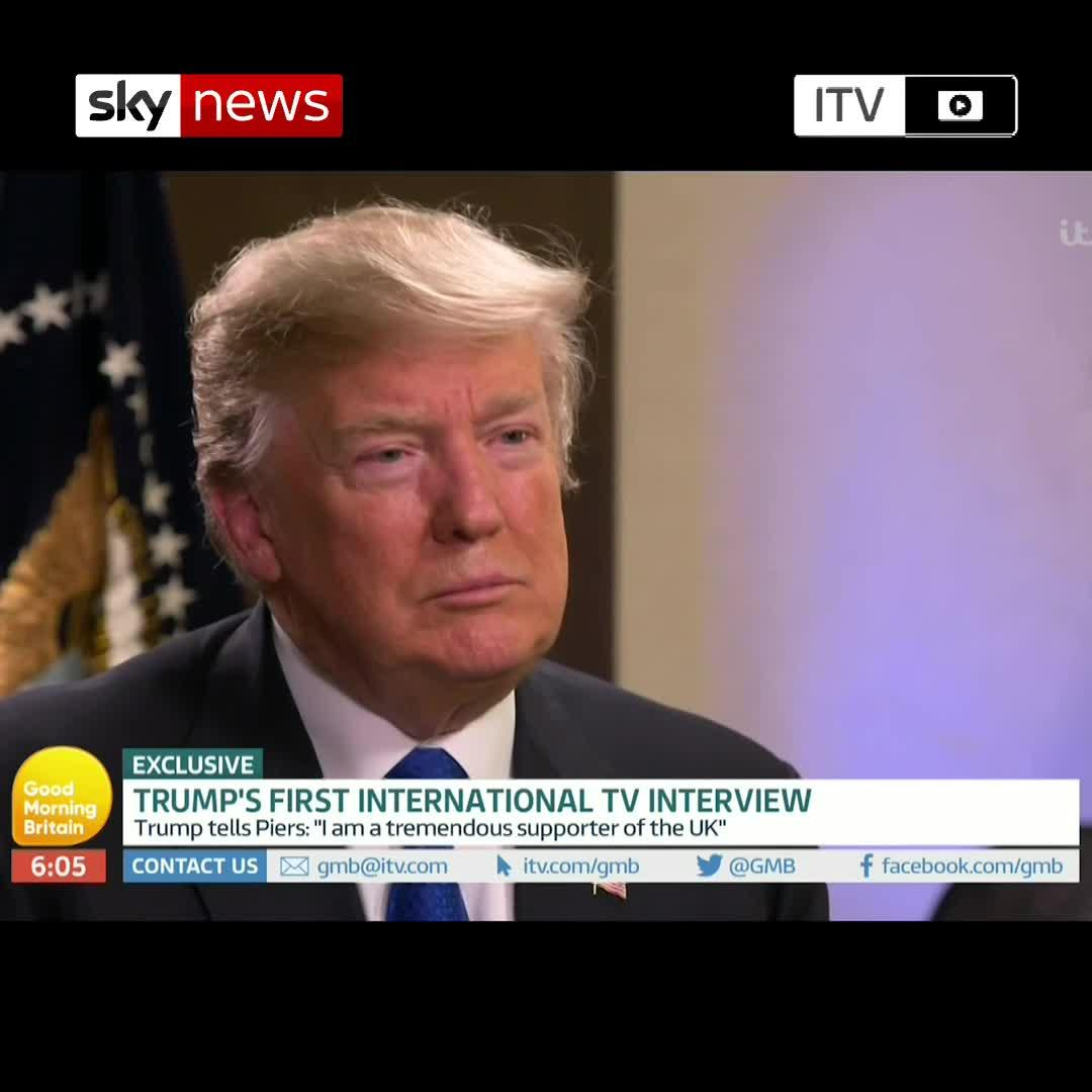 Donald Trump 'not Aware' Of Invite To Harry And Meghan
