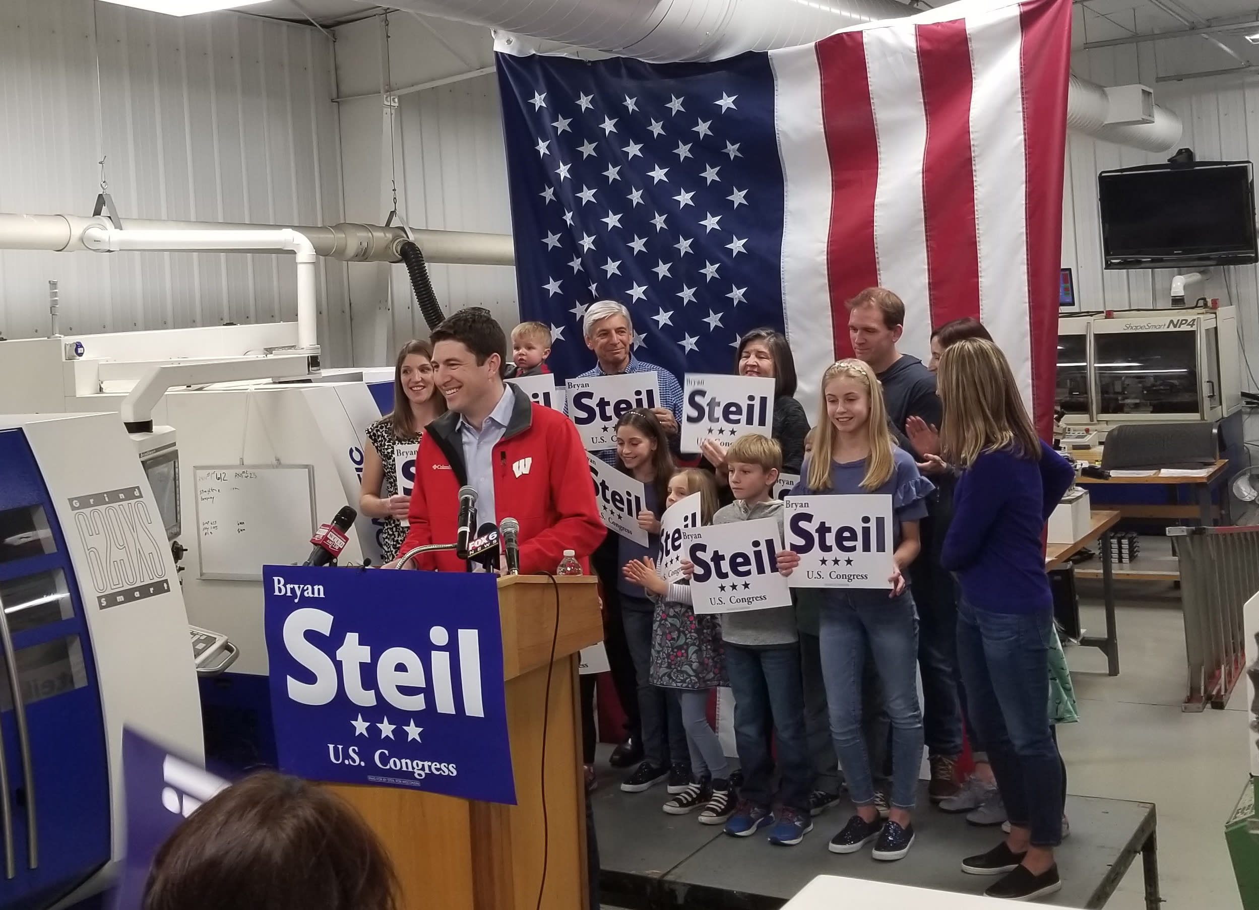 The Latest: Steil wins Wisconsin GOP primary to replace Ryan