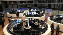 European shares fail to rebound, risk-off mood prevails