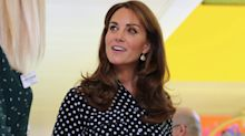 Duchess of Cambridge wears polka dots in Peckham for charity engagement