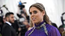 Princess Beatrice stuns in vintage wedding dress as she borrows Queen's tiara