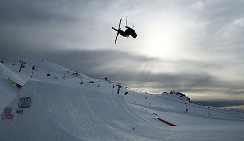 """Freestyle-Skiing: Ragettli steht ersten """"Quad 1800"""""""