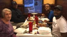 Young man asks widow eating alone to join him: 'This woman changed my outlook on life'