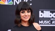 El sorprendente flequillo de Mila Kunis que tú nunca te has atrevido a llevar