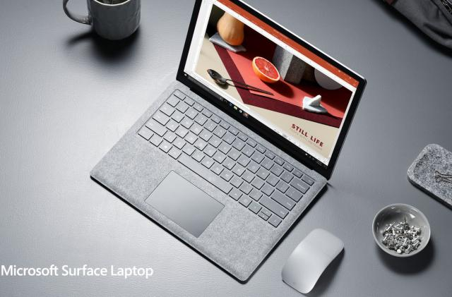 Microsoft's Surface Laptop arrives on June 15th for $999