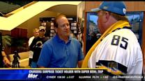 Chargers surprise ticket holder with Super Bowl trip