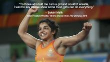 Inspiring quotes from OlympicAthletes