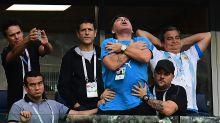 El show de Maradona en el Mundial