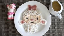 This mom's food art looks almost too good to eat