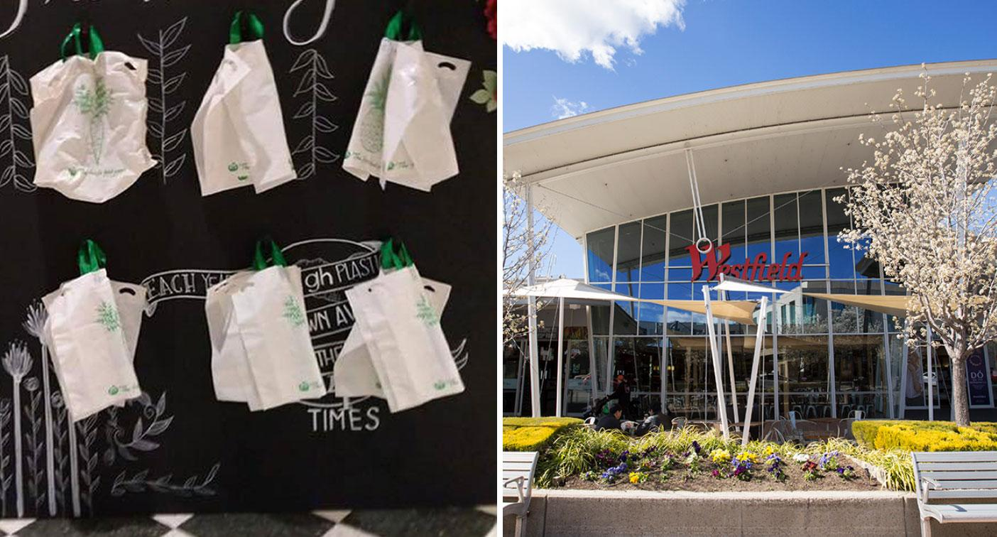 Shopping centre's 'genius' plastic bag initiative to help forgetful shoppers