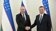 Russia and Uzbekistan strengthen ties as Putin pays state visit