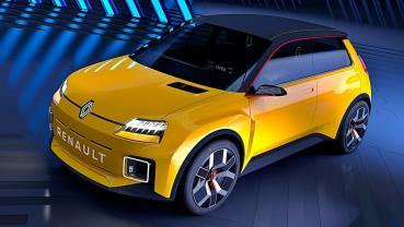 RENAULT將讓經典車款雷諾 5號重生,將變身小型電動車並於 2025 年上市