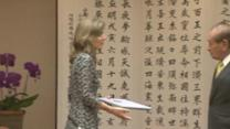 "U.S. Ambassador Caroline Kennedy says JFK's life ""saved here on Okinawa"""