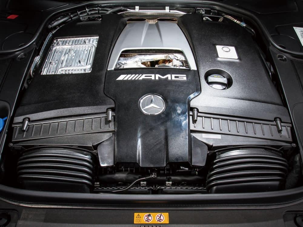 4.0升BiTurbo V型8汽缸引擎,提供高達612hp/91.8kgm的強悍動力,讓S63 Coup 4MATIC+自靜止加速至時速100km/h在3.5秒內完成。