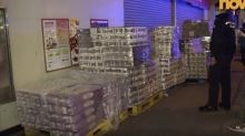Two arrested after armed gang makes run for toilet rolls in HK$1,000 heist as coronavirus panic shows no signs of easing